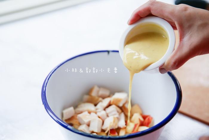 小林郭郭-鹽漬雞肉優格蘋果三明治-6